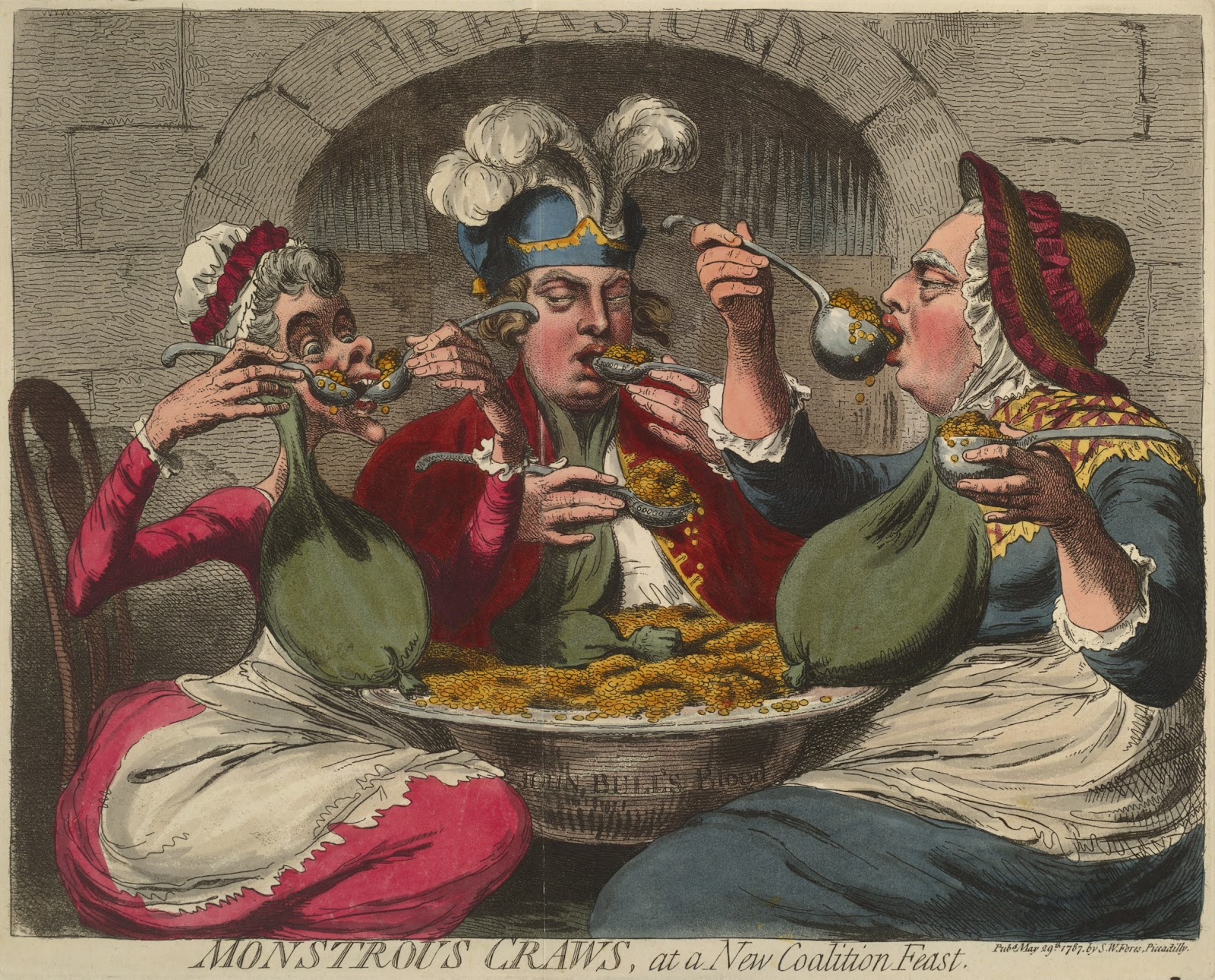 Gillray Monstrous_craws,_at_a_new_coalition_feast