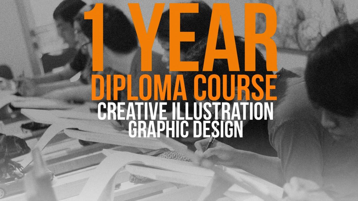 Jadilah DREAMPRENEUR! Program 1 tahun penuh yang didesain khusus untuk menciptakan insan kreatif yang memiliki passion di ilustrasi dan desain grafis untuk siap berkompetensi di dunia industri kreatif