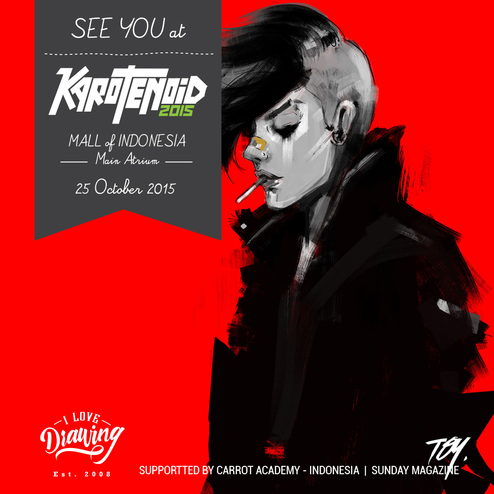 See You at #Karotenoid2015 by Dika Toolkit