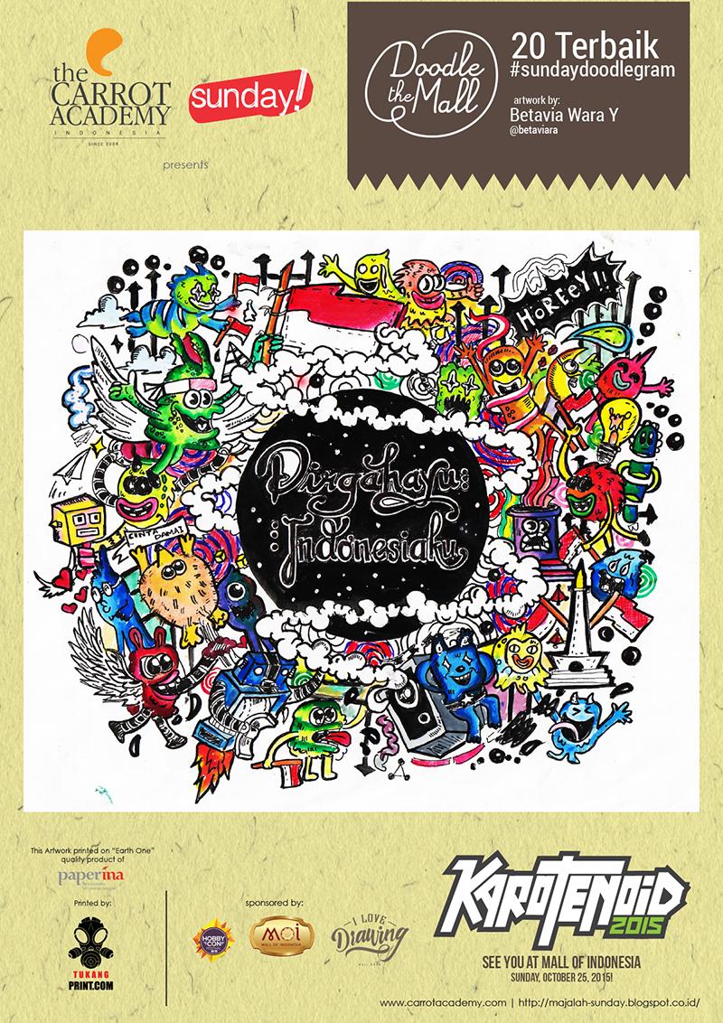 Doodlegram cetak A4