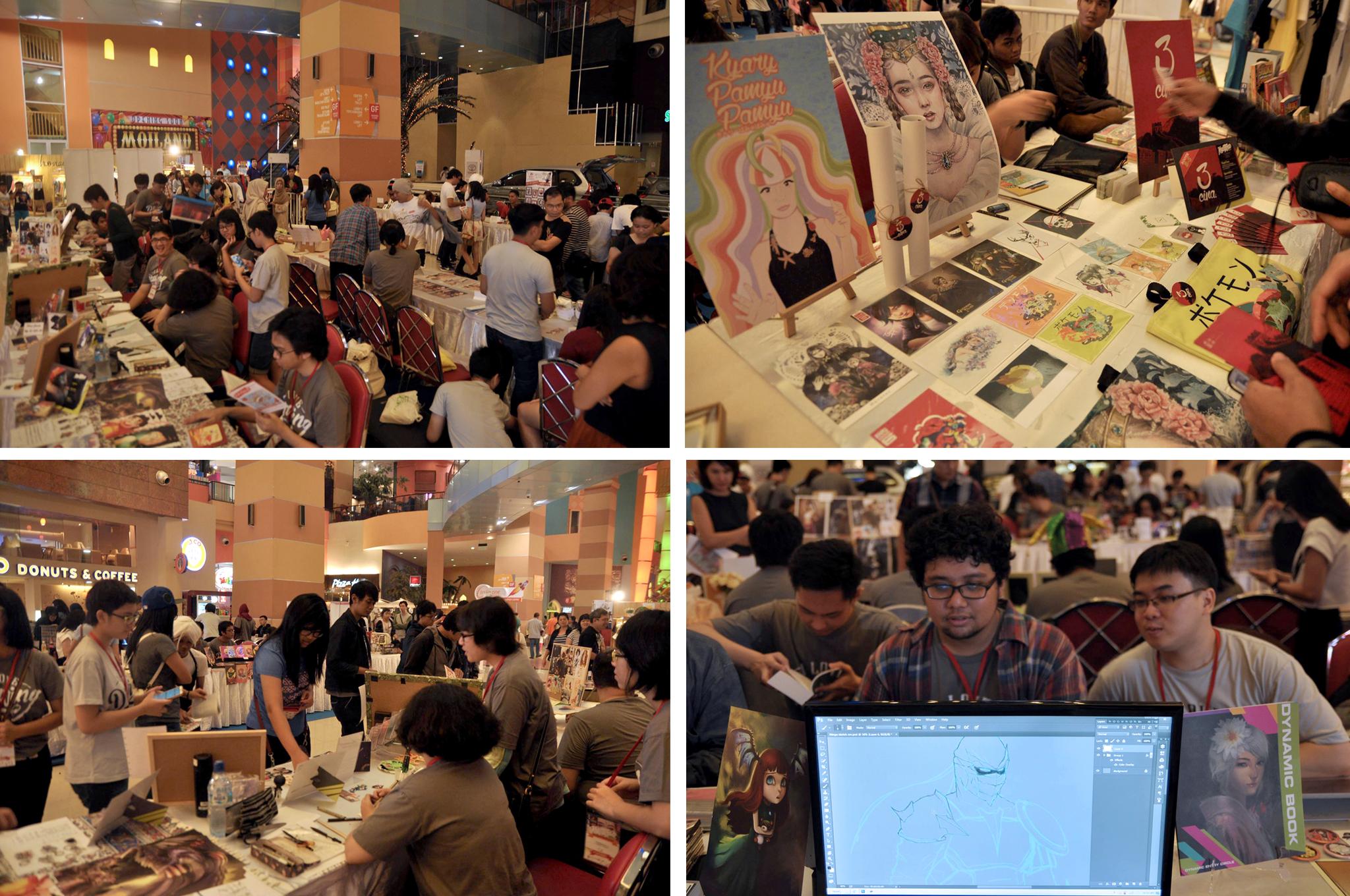 Karotenoid Exhibition Atmosphere