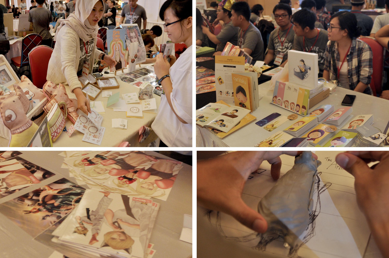 The Exhibitor Artist, Kartika Paramita, Franky Wang, Ex Rain, Panji Zulkaisar