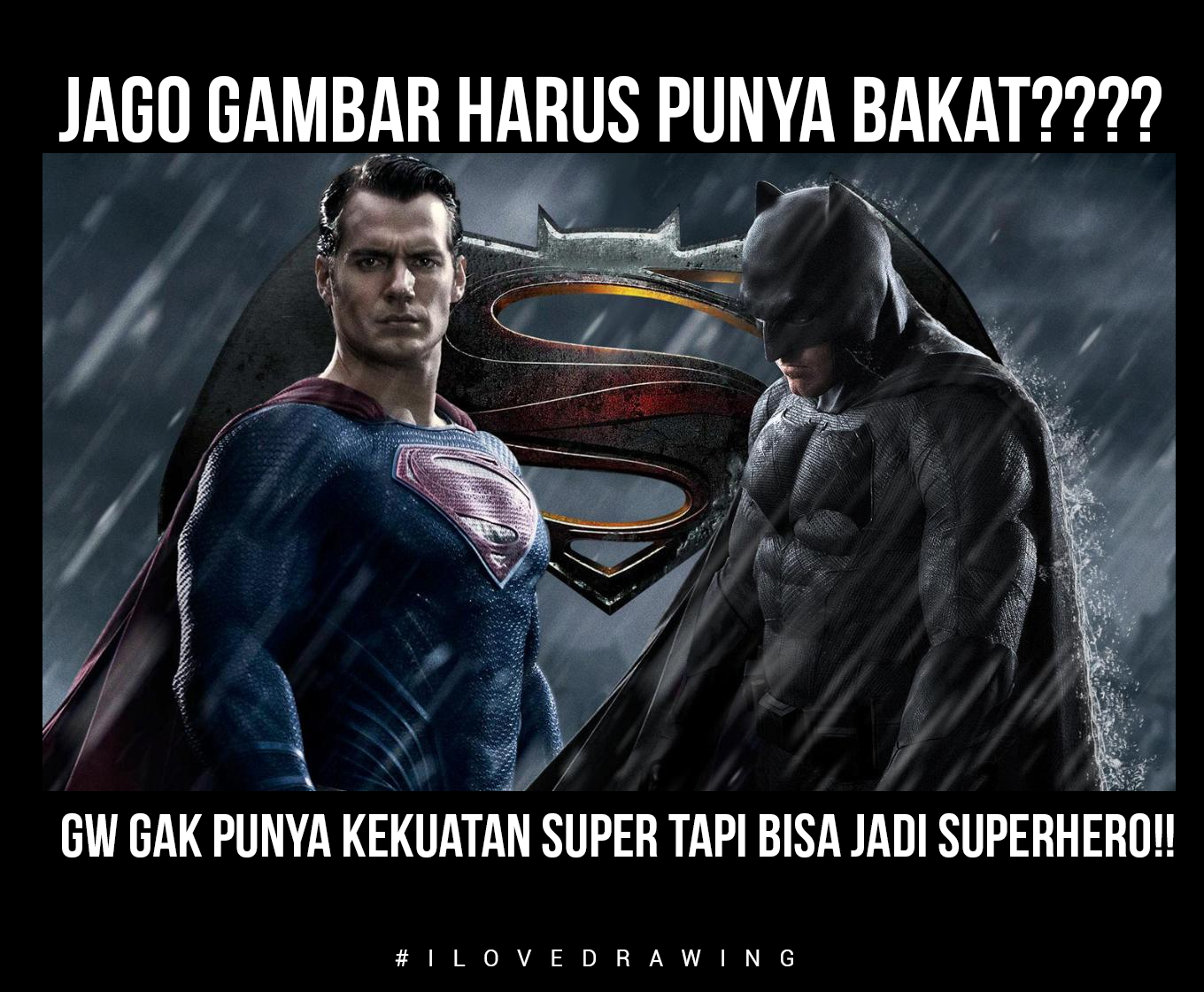 memet batman superman